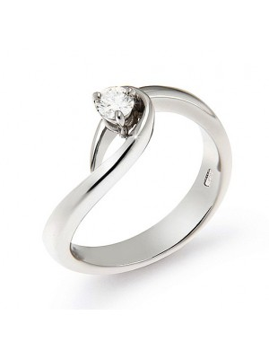 Wed Me Solitaire Natural Diamond 14K Gold Ring