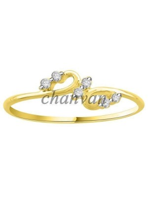 Ready to Shine Real Diamond 14K Gold Engagement Ring