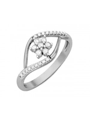 Wed Me Natural Diamond 14K Gold Stackable Ring