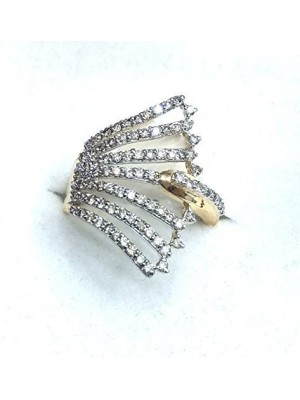 Bridal Choice Natural Diamond 14K Gold Promise Ring