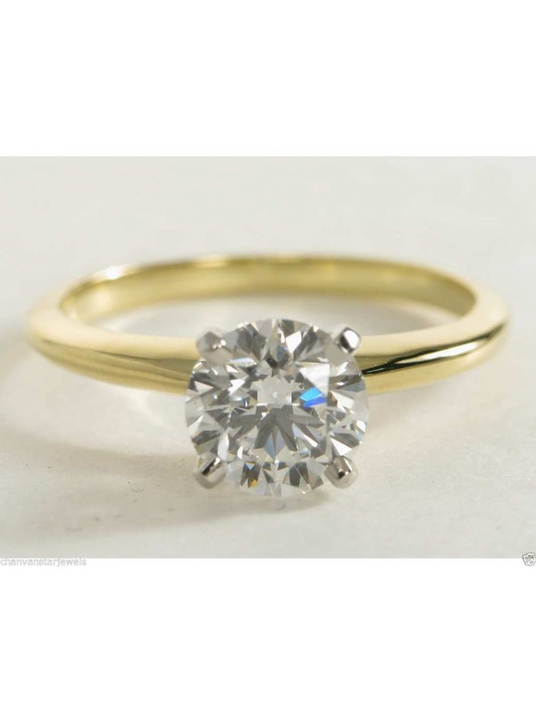 Love Promise Silver Solitaire Ring