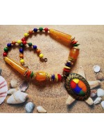 Beach ready Beaded Women Handmade Necklace